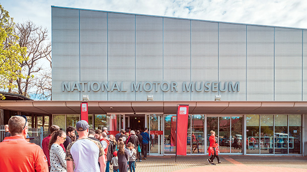 National Motor Museum (at Birdwood in the Adelaide Hills)