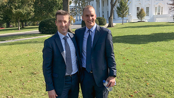 Nick Paterson CA and Travis Tygart.