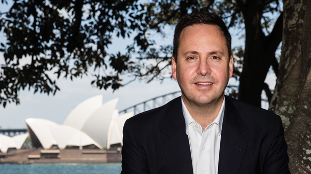 The Australian Minister for Trade, Tourism and Investment Steve Ciobo